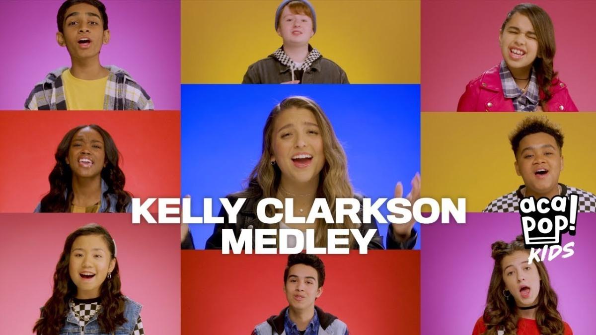 Acapop Kids Kelly Clarkson Medley Ted Trembinski